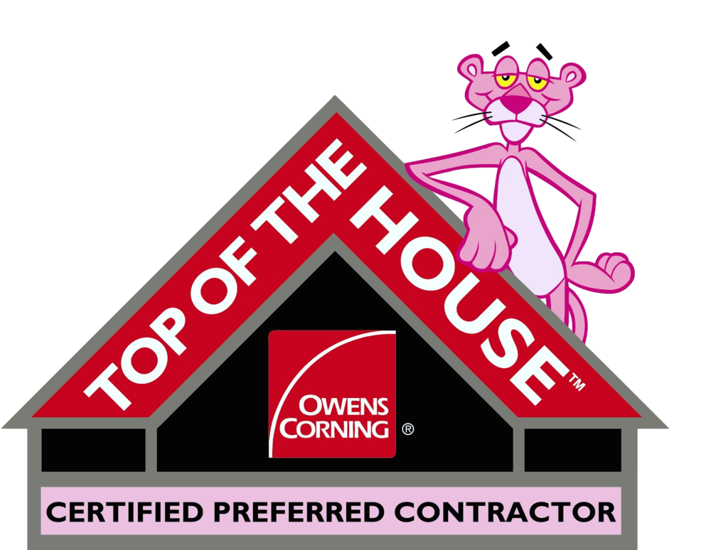 Maus Construction Inc is an Owens Corning Preferred Contractor - Top of the House Seal