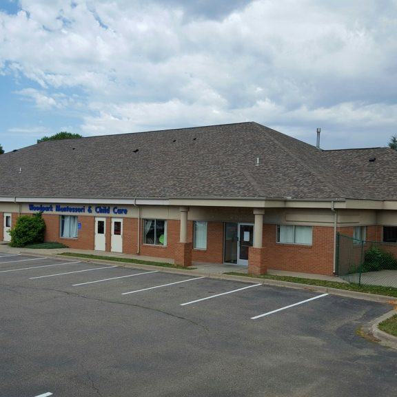 Commercial roofing project on daycare center in Burnsville MN