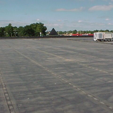 Rubber roofing picture
